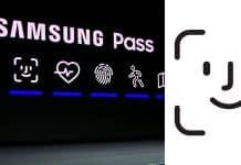 Samsung okopíroval ikonku Face ID. Použil ju na prezentácii.