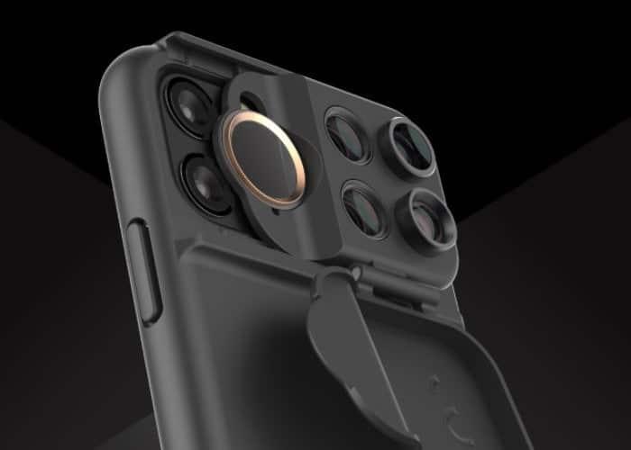 MultiLenss Shift Camm - fotografické púzdro