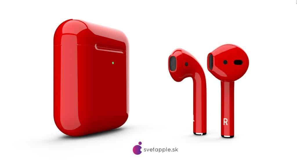 airpods červené