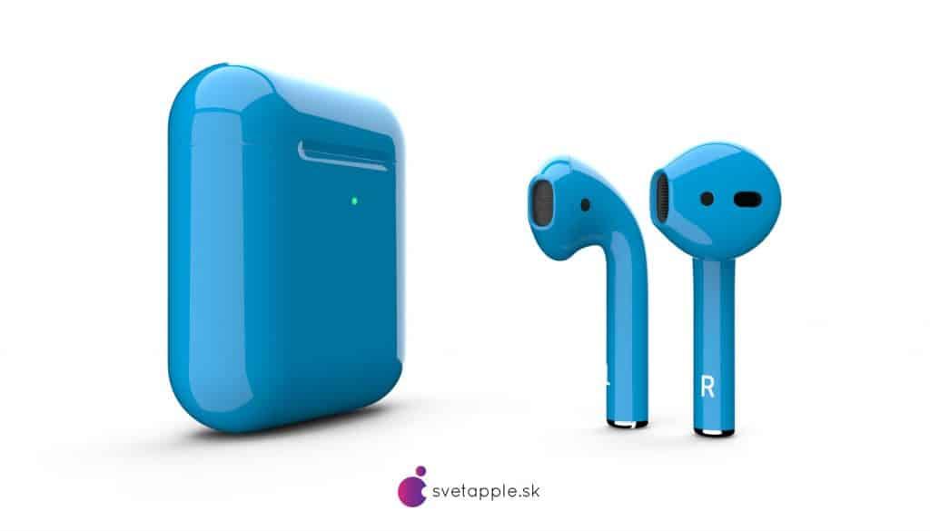airpods modré