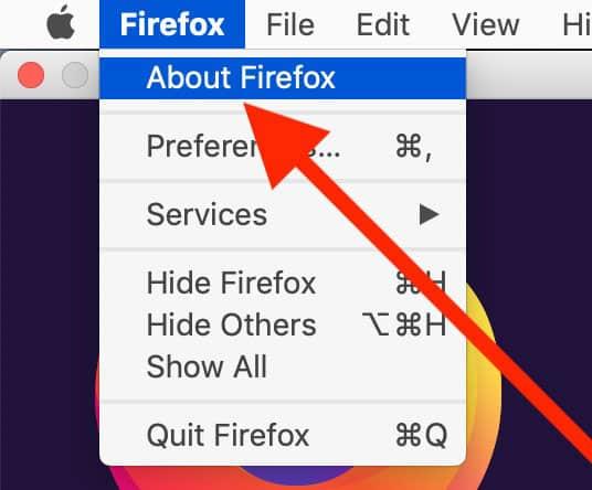 Návod: Ako aktualizovať prehliadač Firefox pre Mac.