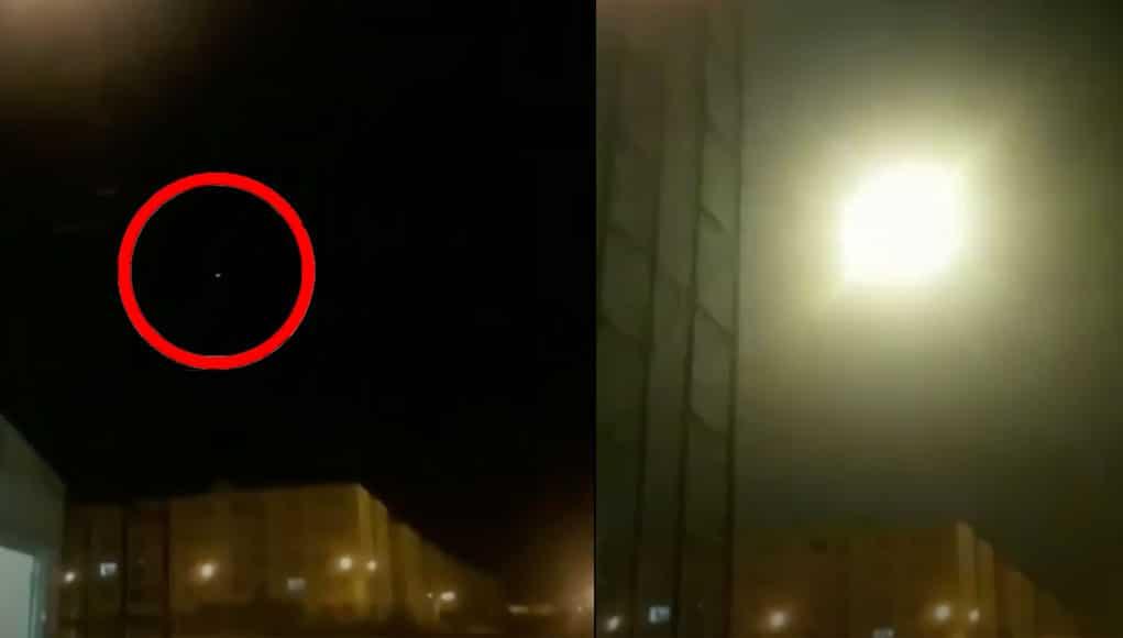 Niekto natočil na telefón údajne zostrelenie ukrajinského lietadla