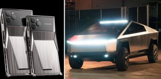 Toto sa stane, keď sa spojí iPhone a Tesla Cybertruck!