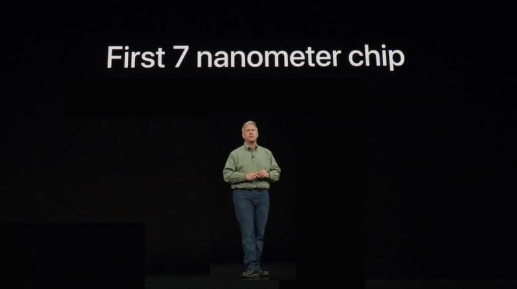 Apple A12 prvý čip vyrábaný 7 nanometrovov technológiou