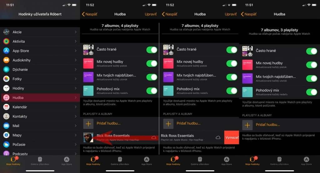 Návod: Návod: Ako si do Apple Watch nahrať hudbu.