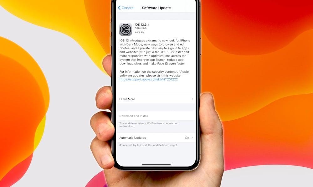 Apple včera vydalo iOS 13.3.1. Máte už aktualizáciu?