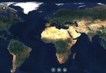 Pozrite si mapu sveta v rozlíšení 80 biliónov pixelov z európskych satelitov.
