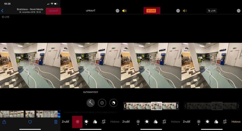 Návod: Ako vypnúť Live režim z už existujúcej fotky?