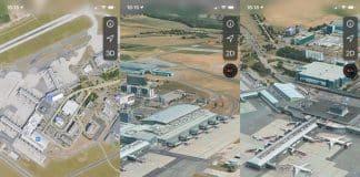 Pražské letisko Václava Havla si môžete pozrieť v Apple Maps aj zvnútra.
