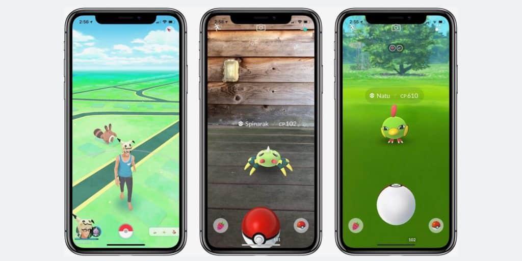 Používatelia minuli na Pokémon GO  894 miliónov dolárov za rok 2019.