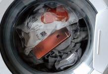 iPhone v práčke