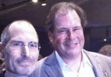 Marc Benioff a Steve Jobs