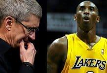 """Tim Cook - """"Obdivoval som jeho ľudskosť"""". Kobe Bryant inšpiroval aj CEO Apple."""
