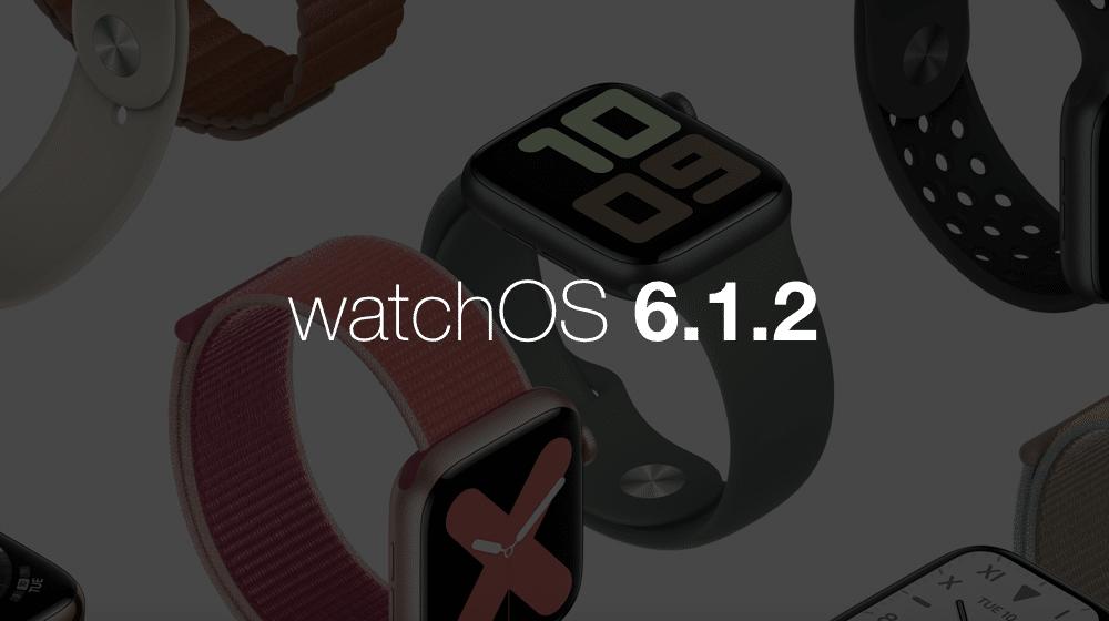 Apple vydalo watchOS 6.1.2. Pozrite sa, čo je nové.