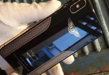 iphone X bentley edition marian kocner