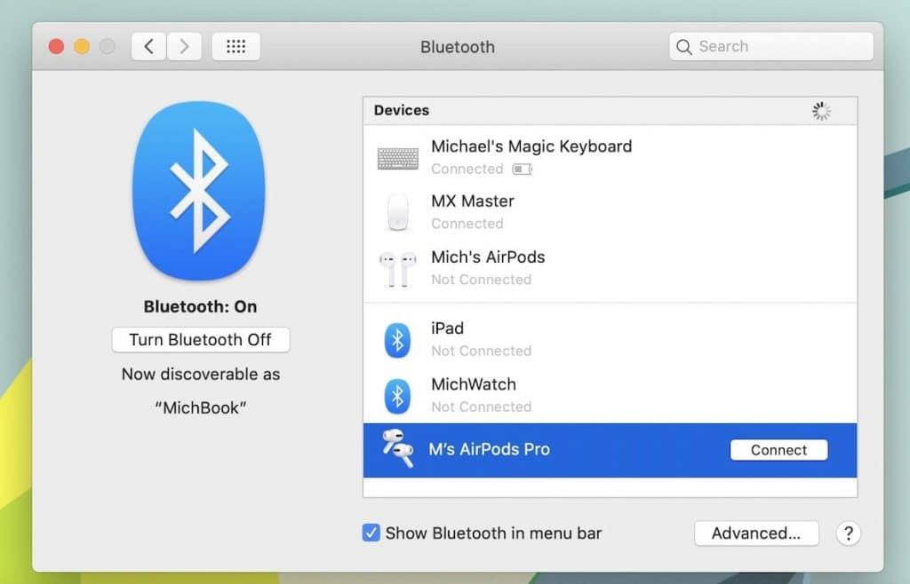 Návod: Ako manuálne pripojiť AirPods k MacBooku
