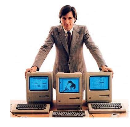 Steve Jobs macinstosh