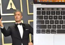 Oscarový režisér Taika Waititi skritizoval motýliu klávesnicu od Apple.