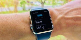 Apple Watch počet krokov