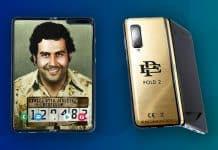 Brat Pabla Escobara predáva skladací telefón. Pozrite sa ako vyzerá na unboxing videu.