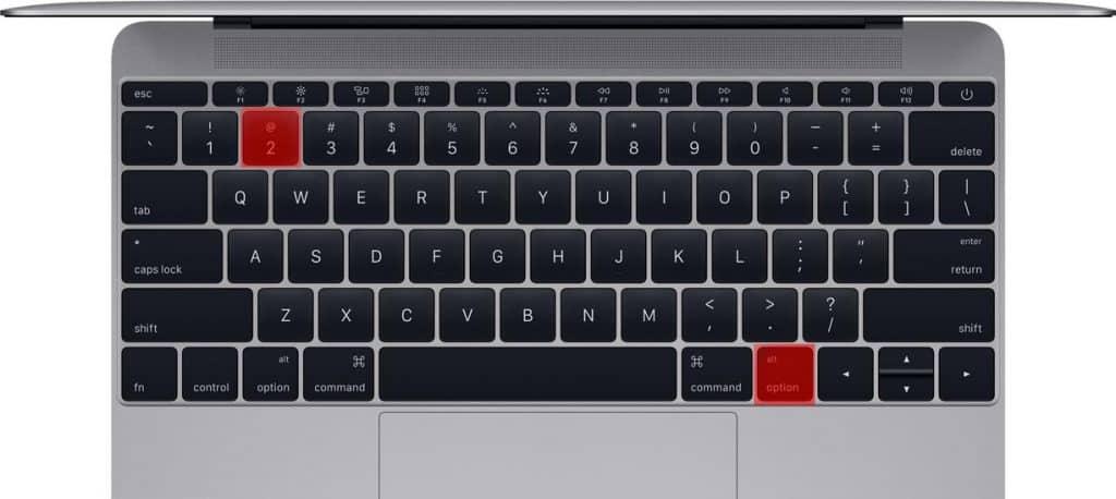 Ako napísať zavináč (@) na Macu?