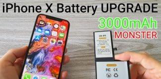 V iPhone X vymenil 2716 mAh akumulátor za 3000 mAh. Všetko funguje.