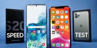 iPhone 11 Pro Max vs. Samsung Galaxy S20 Ultra.