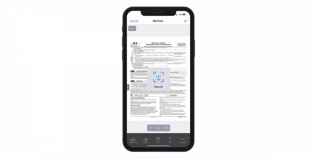SignEasy ako prvá appka na podpisovanie dokumentov, podporuje Face ID.