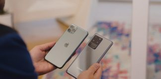 iPhone 11 Pro Max porazil Samsung Galaxy S20 Ultra v prvom kole rýchlostného testu. Potom pohorel.