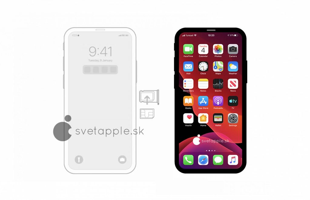 iPhone 12 Pro max no notch leak