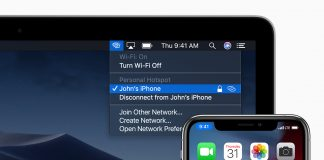 iOS má problém s osobným hotspotom. Apple ho registruje.