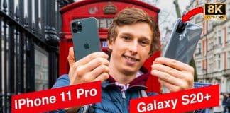 České porovnanie iPhone 11 Pro vs. Samsung Galaxy S20+.
