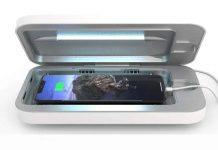 UV lampa zničí koronavírus na smartfóne za 3 minúty!