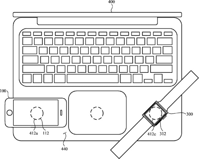 Apple skúma bezdrôtovú nabíjačku pre iPhone v MacBooku!