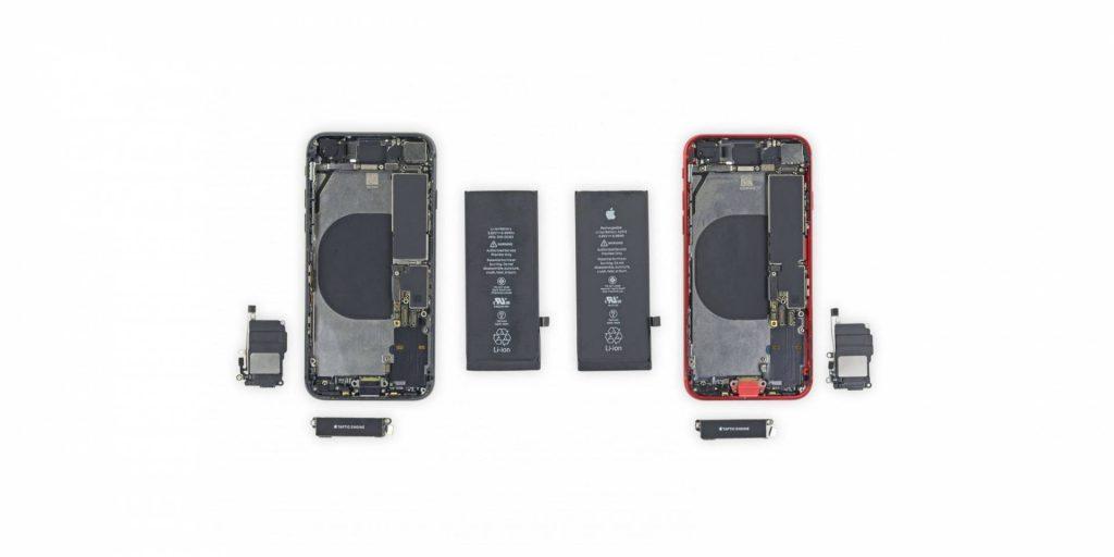 Tieto komponenty z iPhonu 8 bude možné použiť aj v iPhone SE 2. generácie. Tieto komponenty z iPhonu 8 bude možné použiť aj v iPhone SE 2. generácie.