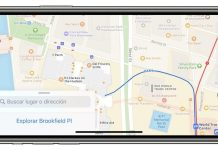 Apple urobilo menšiu aktualizáciu vo svojich mapách.