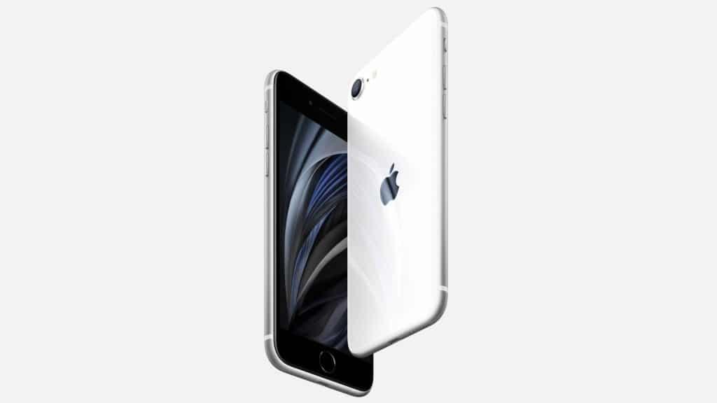 """iPhone SE 2. generácie nie je dostupný s bielym """"displejom""""."""