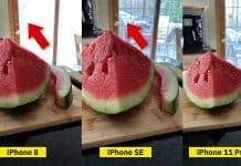 Porovnanie fotoaparátu iPhone SE 2 vs. iPhone 8 vs. iPhone 11 Pro.