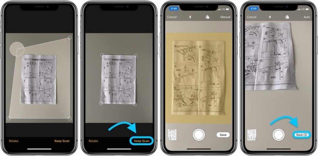 Návod: Skenovanie dokumentov v aplikácii poznámky v iOS.