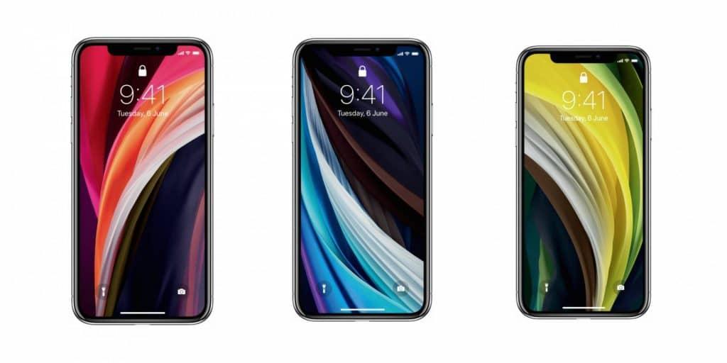 Stiahnite si pozadia z nového iPhonu SE 2. generácie na váš aktuálny model.