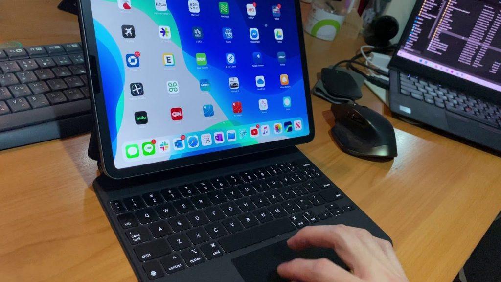 Ako funguje iPad Pro s novou klávesnicou Magic Keyboard?