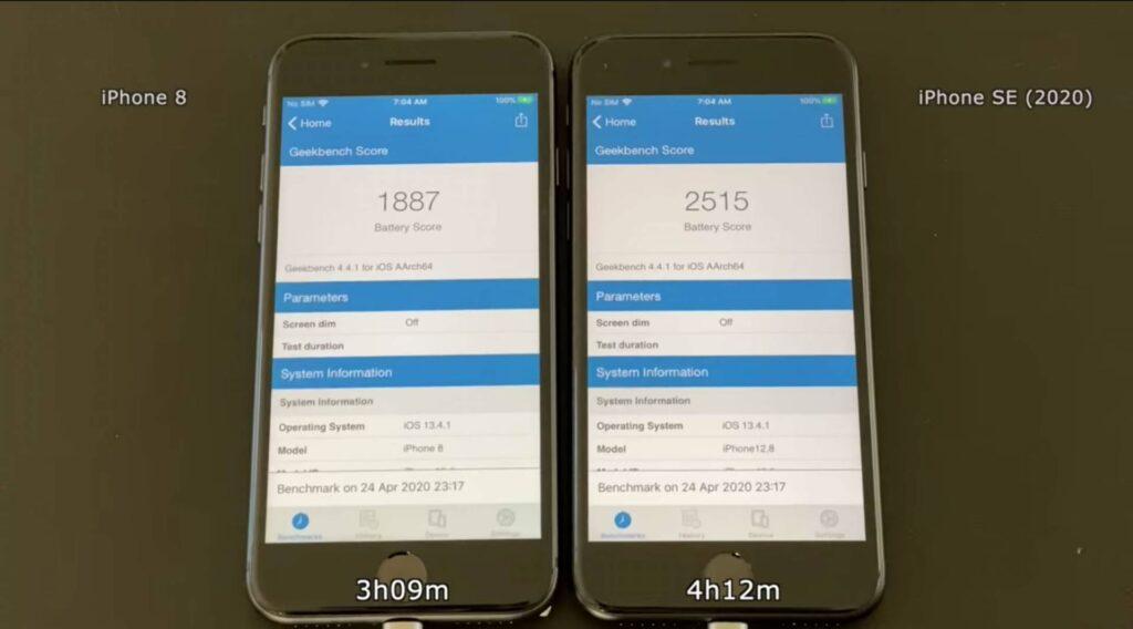 iPhone SE 2. generácie má výrazne lepšiu výdrž batérie, ako iPhone 8!