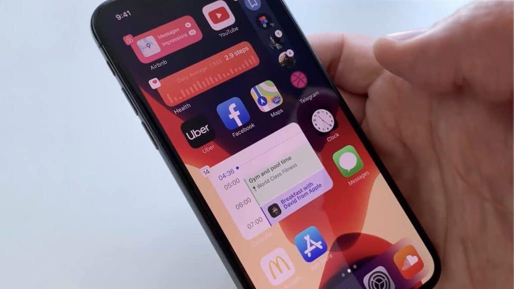 iOS 14 - Ak sú úniky pravdivé, takto by mohol vyzerať.