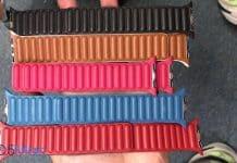 Uniknuté zábery ukazujú nové, zatiaľ nepredstavené kožené remienky pre Apple Watch.