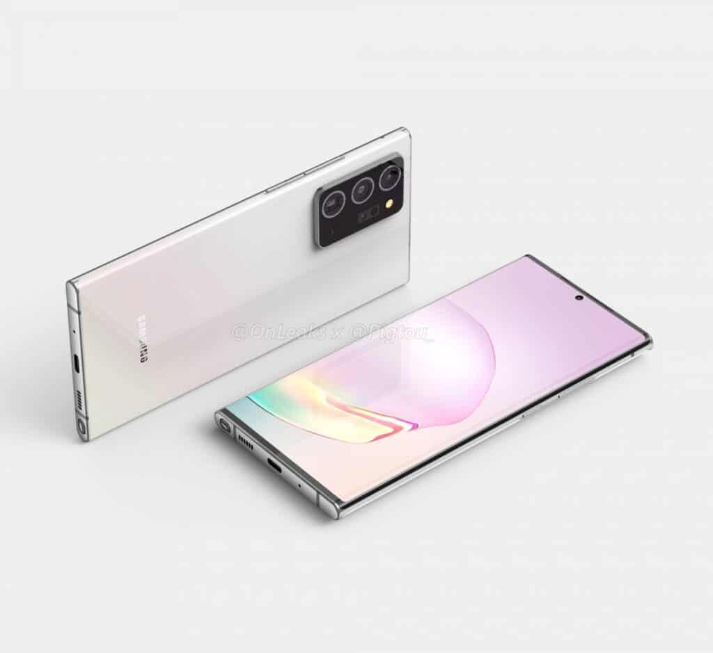Takto bude vyzerať najväčší konkurent pre iPhone 12 Pro Max - Samsung Galaxy Note 20 Plus.