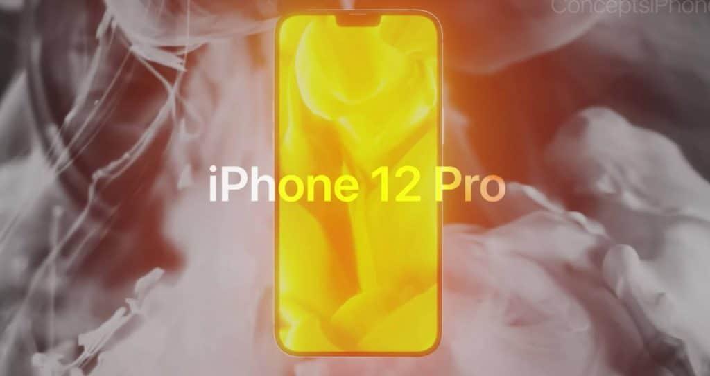 iPhone 12 Pro - pozrite si prepracovaný koncept, ktorý ho zachytáva v plnej kráse.