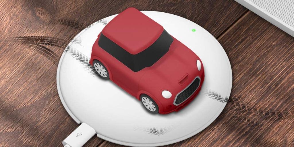 Elago predáva originálne púzdro pre AirPods, ktoré vychádza z vozidla Mini Cooper.