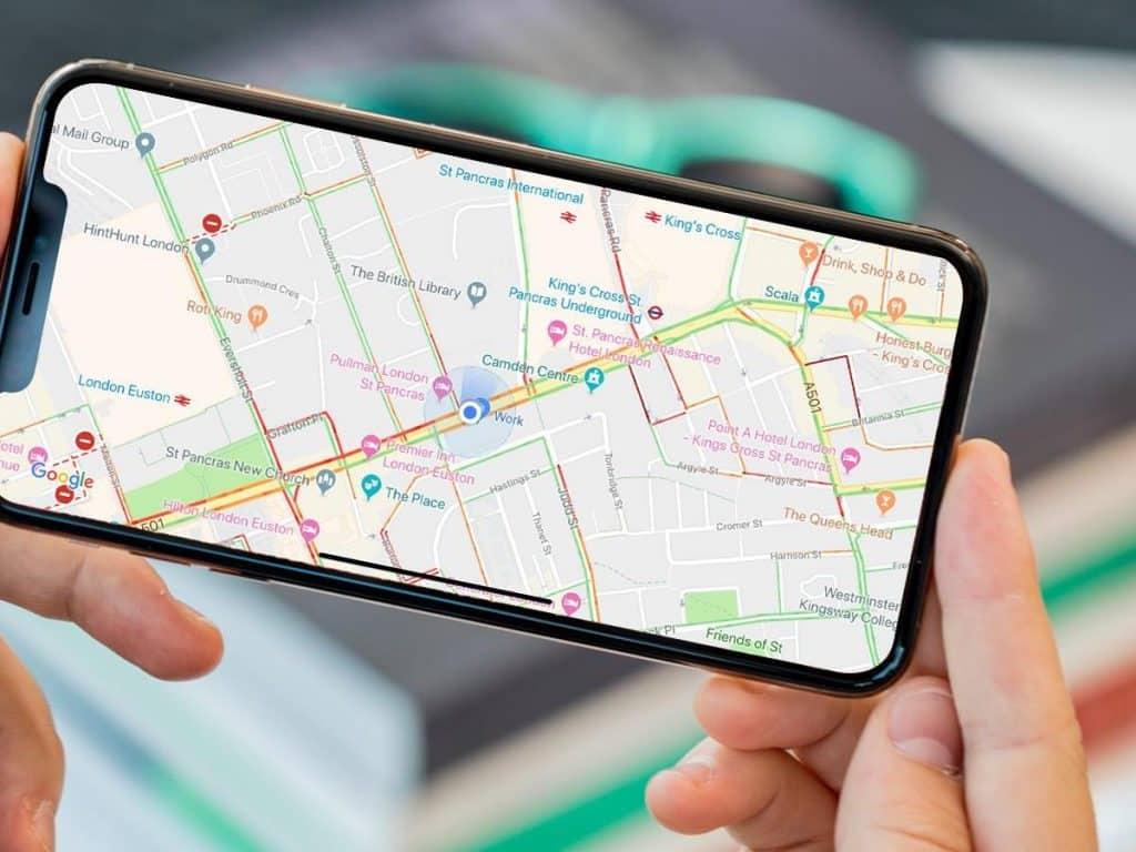 Google Maps iPhone - svetapple.sk