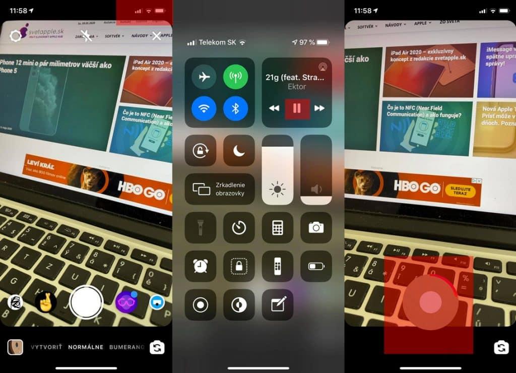 1. Ako pridať hudbu do Instagram príbehov cez Apple Music, Spotify alebo inú applu.