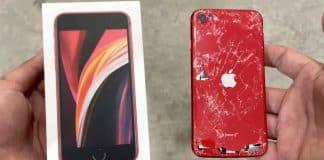 Drop test ukázal, prečo by ste si na iPhone SE 2. generácie mali kúpiť obal.